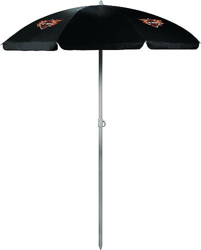Picnic Time Harley Davidson Portable Canopy Outdoor Sunshade Umbrella