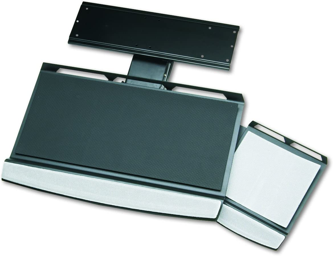 Fellowes Office Suites Adjustable Keyboard Tray (8031301),Black/Silver
