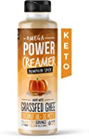 Omega PowerCreamer - Pumpkin Spice Keto Coffee Creamer with MCT Oil, Grass-fed Ghee, Organic Coconut Oil, Stevia -...