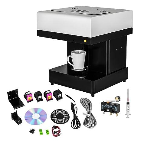 Guellin Impresora de Café 110x110mm DIY Máquina de Café 3D Impresora para Café Adecuada para Win