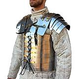 Brass Nautical Roman Soldier Military Lorica Segmentata Body Armor 20g Steel