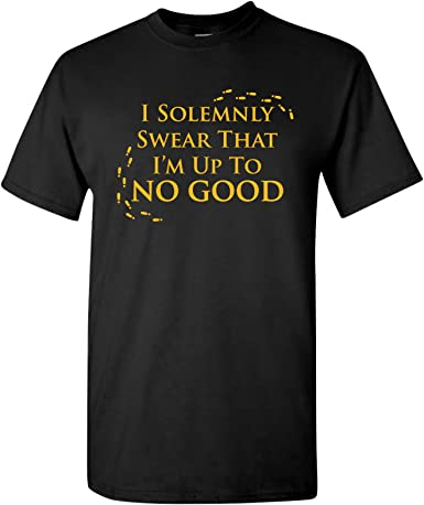 I Solemnly Swear It/'s My 7th Birthday T-Shirt Tee Gift Seventh Harry Potter Bday