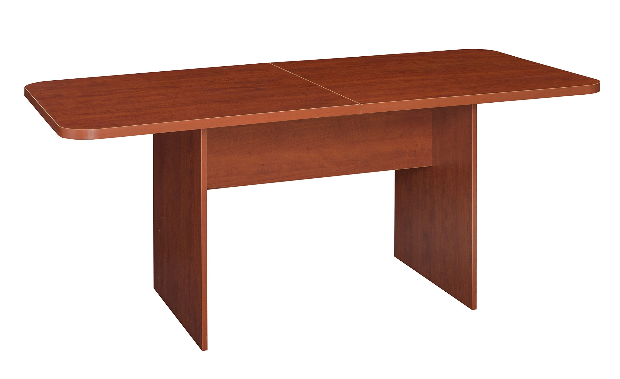 Niche Mod Conference Table with No- with No-Tools Assembly, 6', Cherry by NICHE