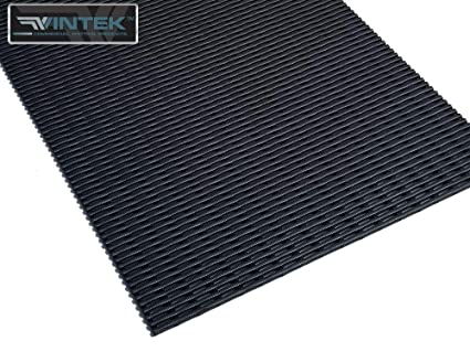 VinGrate Mat Wet Area Floor Matting for Swimming Pool Shower/Locker Room  Bathroom Sauna SPA 4-Way Water Drain Indoor/Outdoor Use 3/8\