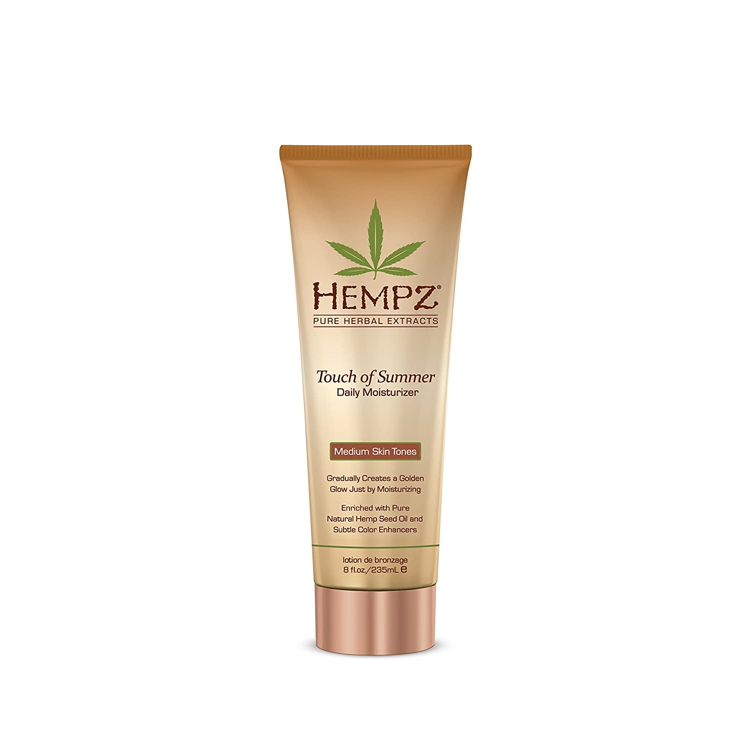 Hempz Touch of Summer Daily Moisturizer, Medium Skin Tones, 8 Fluid Ounce 110-2124-03 B00315B4CY