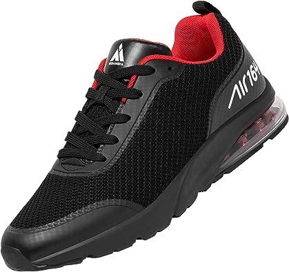 Mishansha Transpirable Hombre Mujer Zapatillas de Deportivas Ligeras Colchón de Aire Zapatos para Correr Cómoda Sneakers: Amazon.es: Zapatos y complementos
