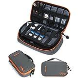 (バッグマート)BAGSMART ACアダプター PC周辺小物用収納ポーチ 2室構造 撥水加工 全4色