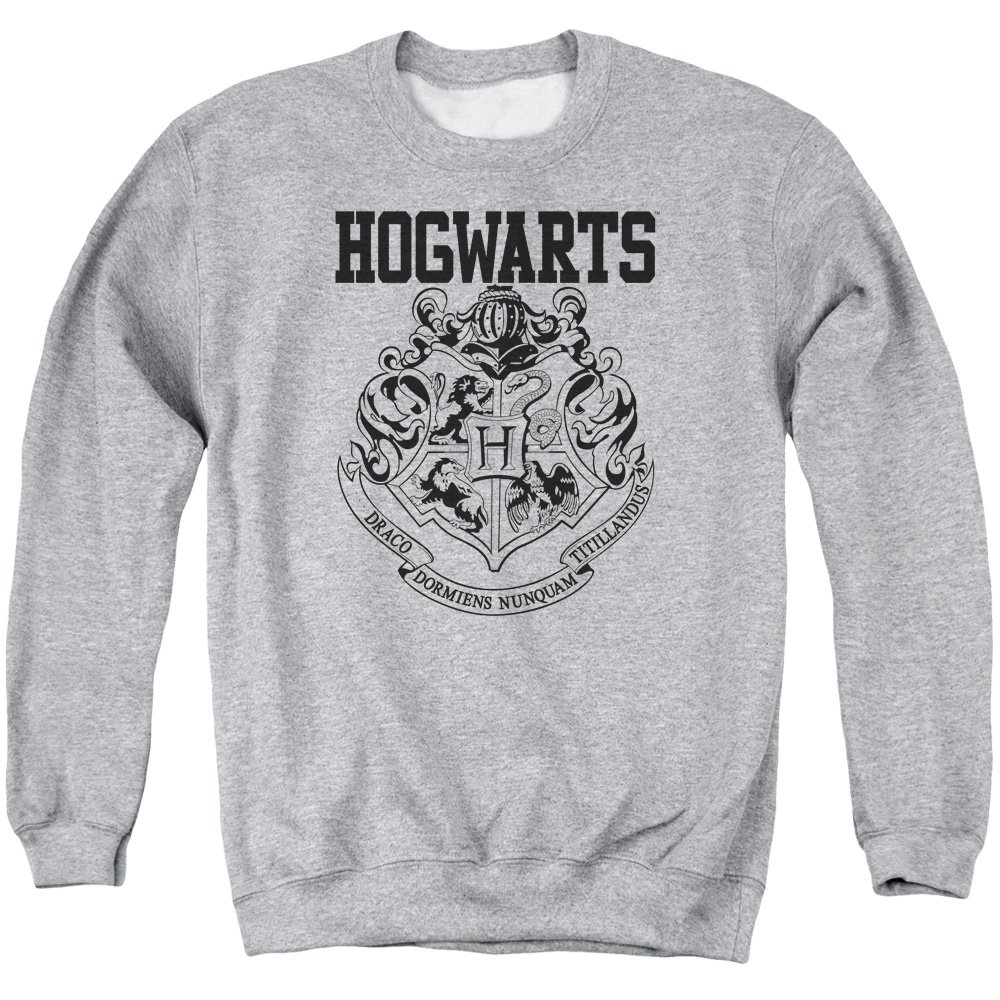 Harry Potter Hogwarts Athletic Mens Crew Neck Sweatshirt Trevco