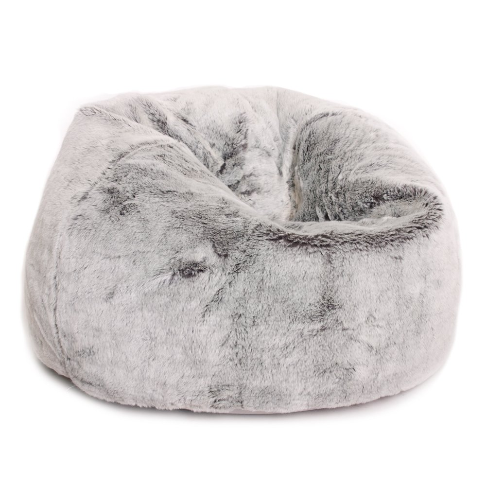 ICON Large Childrens Faux Fur Classic Bean Bag