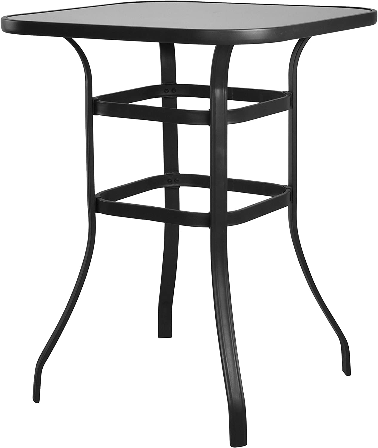 EMERIT Bistro Bar Table Outdoor High Top Table
