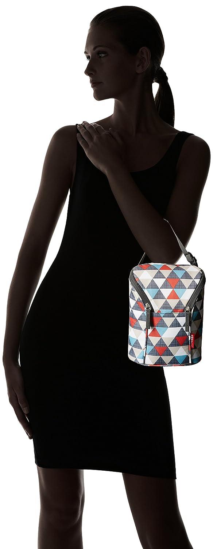 Skip Hop Grab und Go Fl/äschchentasche mit Dreiecken mehrfarbig Tasche f/ür zwei Fl/äschchen oder Trinklernbecher