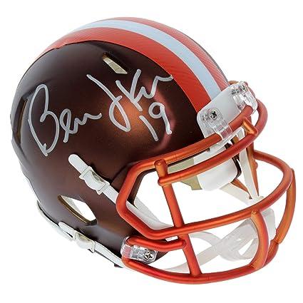 25d4698e Amazon.com: Bernie Kosar Cleveland Browns Autographed Signed Riddell ...