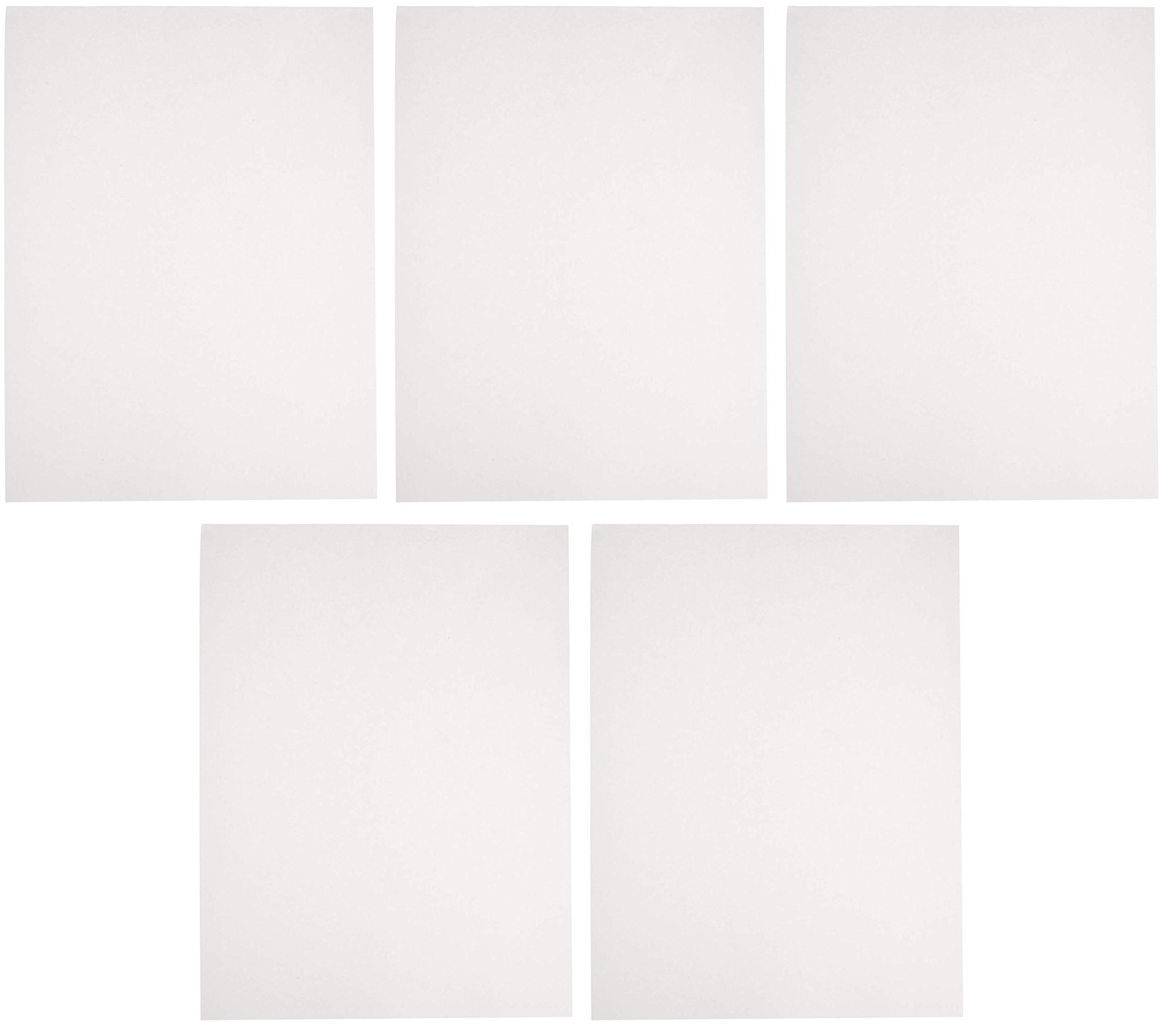Sax Sulphite Drawing Paper, 50 lb, 12 x 18 Inches, Extra-White, Pack of 500 (Вundlе оf Fіvе)