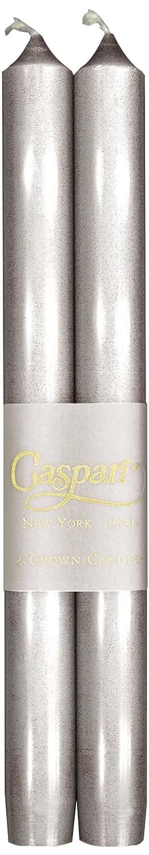 Caspari Lot de 10 bougies sans coulures sans fumée non Parfumées Boîte de 12 Bordeaux CA22