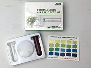 Formaldehyde Air Rapid Test Kit, 5th Generation, DIY Testing Indoor Air, North America Edition