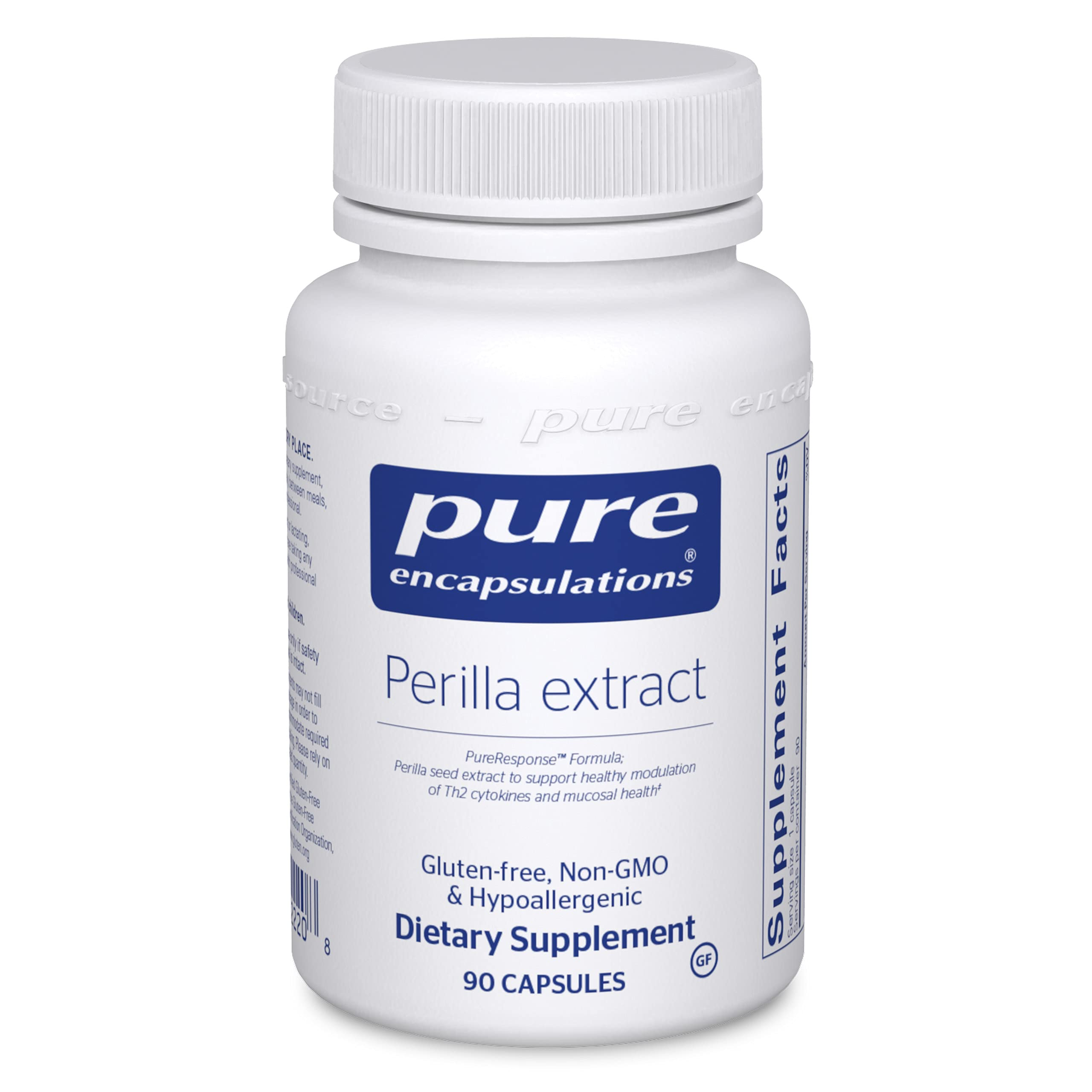 Pure Encapsulations - Perilla Extract - Support for Healthy Modulation of Th2 Cytokines and Mucosal Health* - 90 Capsules