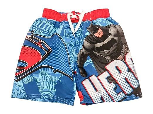f7e32aaf26831 Amazon.com  DC Comics Batman Vs Superman Boys Dawn of Justice Swim ...