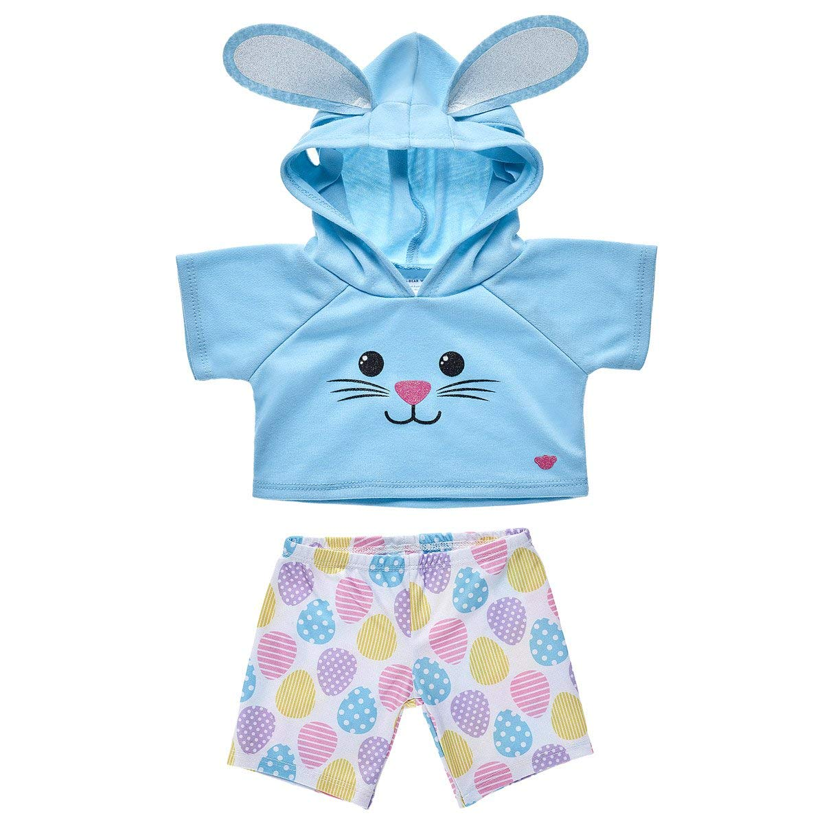 Build-a-Bear Workshop Easter Hoodie and Legging Set 2 pc.