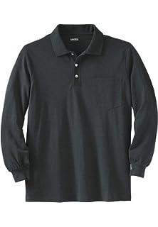 f478617d7f34 Tri-Mountain Men Champion Long Sleeve Pique Knit Golf Shirt (15 ...