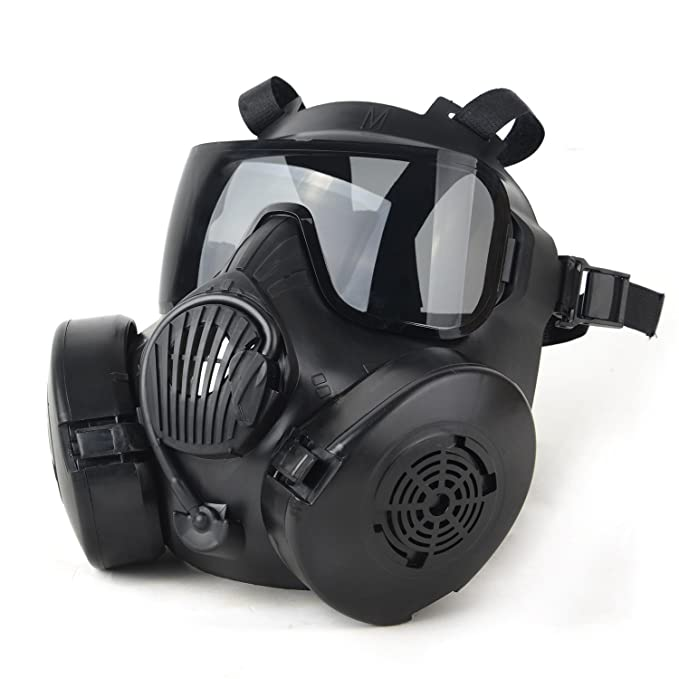 Durable Halloween Mask Dc-15 M50 Full Face Skull Mask Cs Gas Mask Tactical War Game Cosplay Party Mask Sand/green/black To Enjoy High Reputation In The International Market Party Masks Back To Search Resultshome & Garden