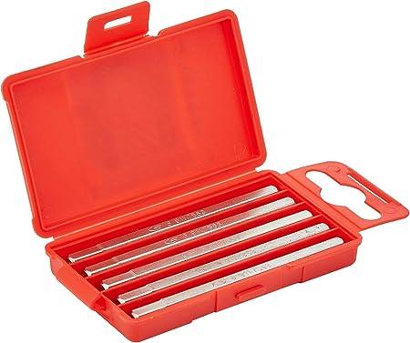 KS TOOLS 911.7763 Boîte de 5 embouts de vissage 6 pans, L.75 mm 14'' 6 mm