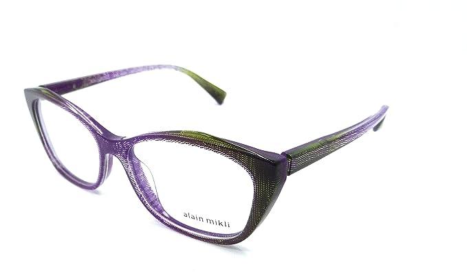 673af060175 Amazon.com  Alain Mikli Rx Eyeglasses Frames A03060 F007 54x16 ...