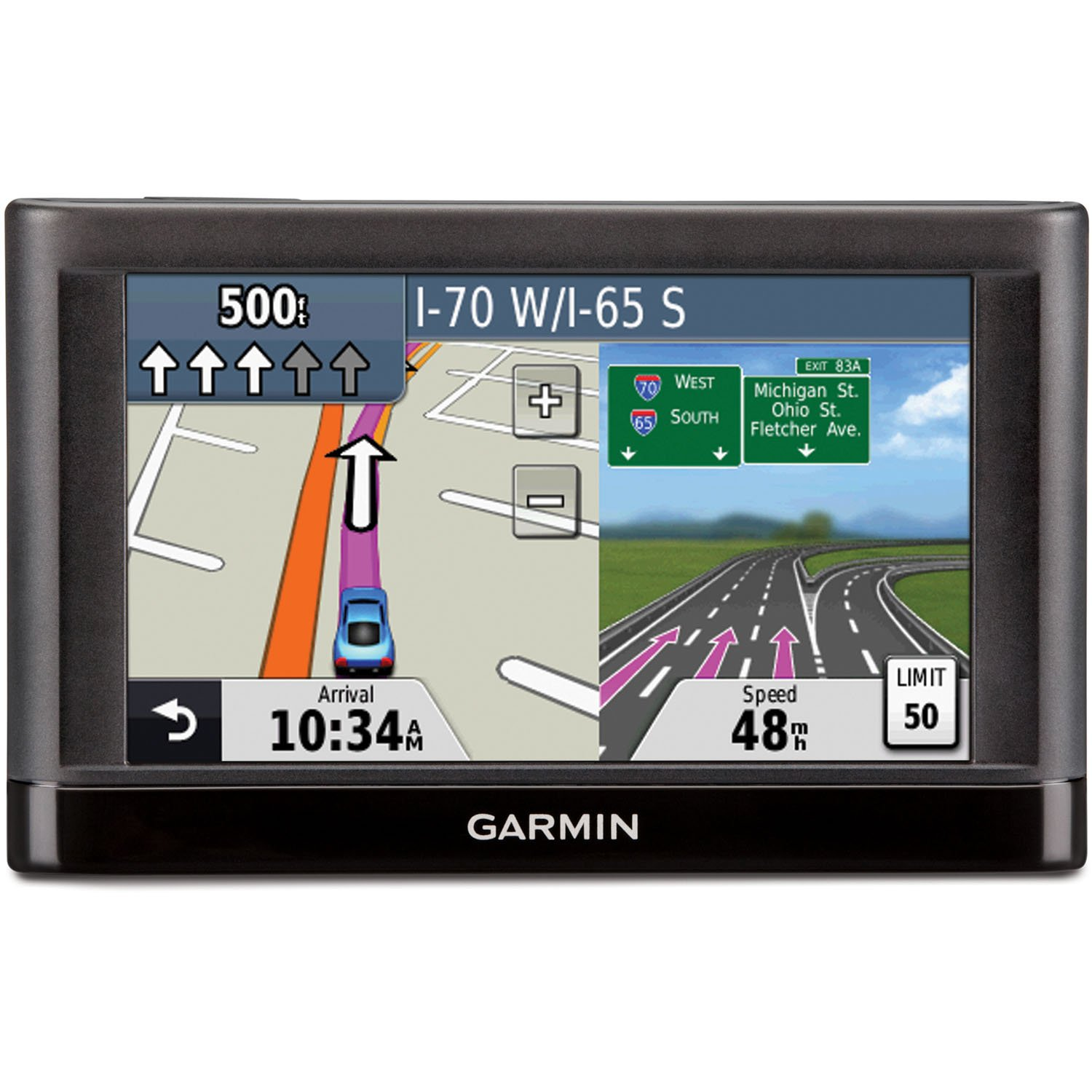 Garmin nuvi 44LM 4.3-Inch Portable Vehicle GPS (US & Canada) (Discontinued by Manufacturer) Garmin Canada 010-01114-03