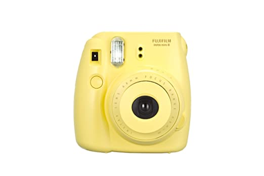 769 opinioni per Fujifilm Instax Mini 8 Fotocamera Istantanea per Foto Formato 62x46 mm, Giallo