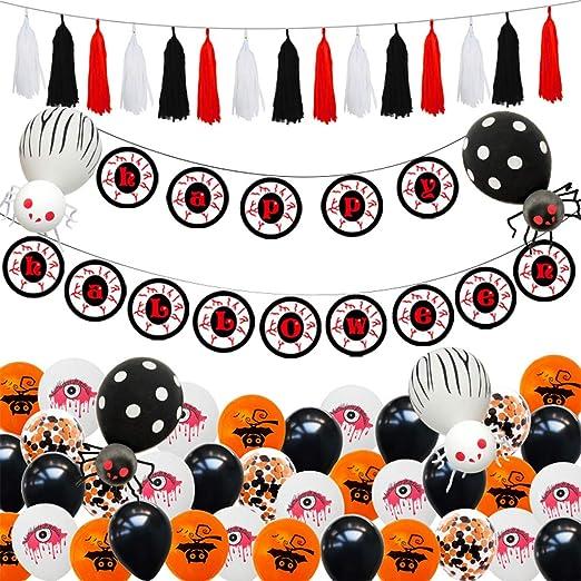 REETWO Halloween Conjunto De Decoraciones Fiesta De ...