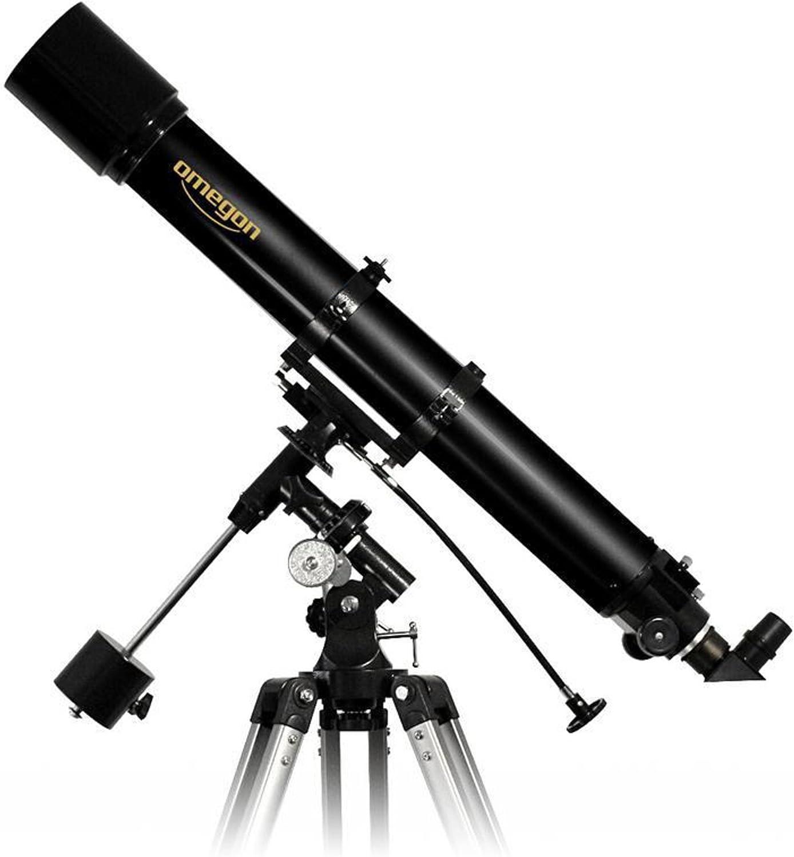 Omegon Teleskop Ac 90 1000 Eq 2 Linsenteleskop Mit Elektronik