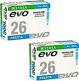 Evo 26 x 2-2.4 48mm Presta Valve Bicycle Bike Tube 020055-13