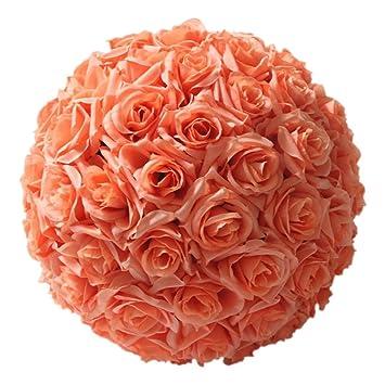 Amazon rose flower ball sodialr820cmtiffany blue wedding rose flower ball sodialr8quot20cmtiffany blue wedding mightylinksfo