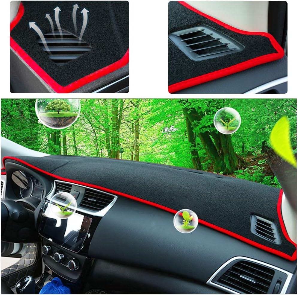 Yeeoy Dashboard Cover Dash Pad Car Dashboard Mat Sun Shade Replacement for 2016 2017 2018 Jeep Renegade Black