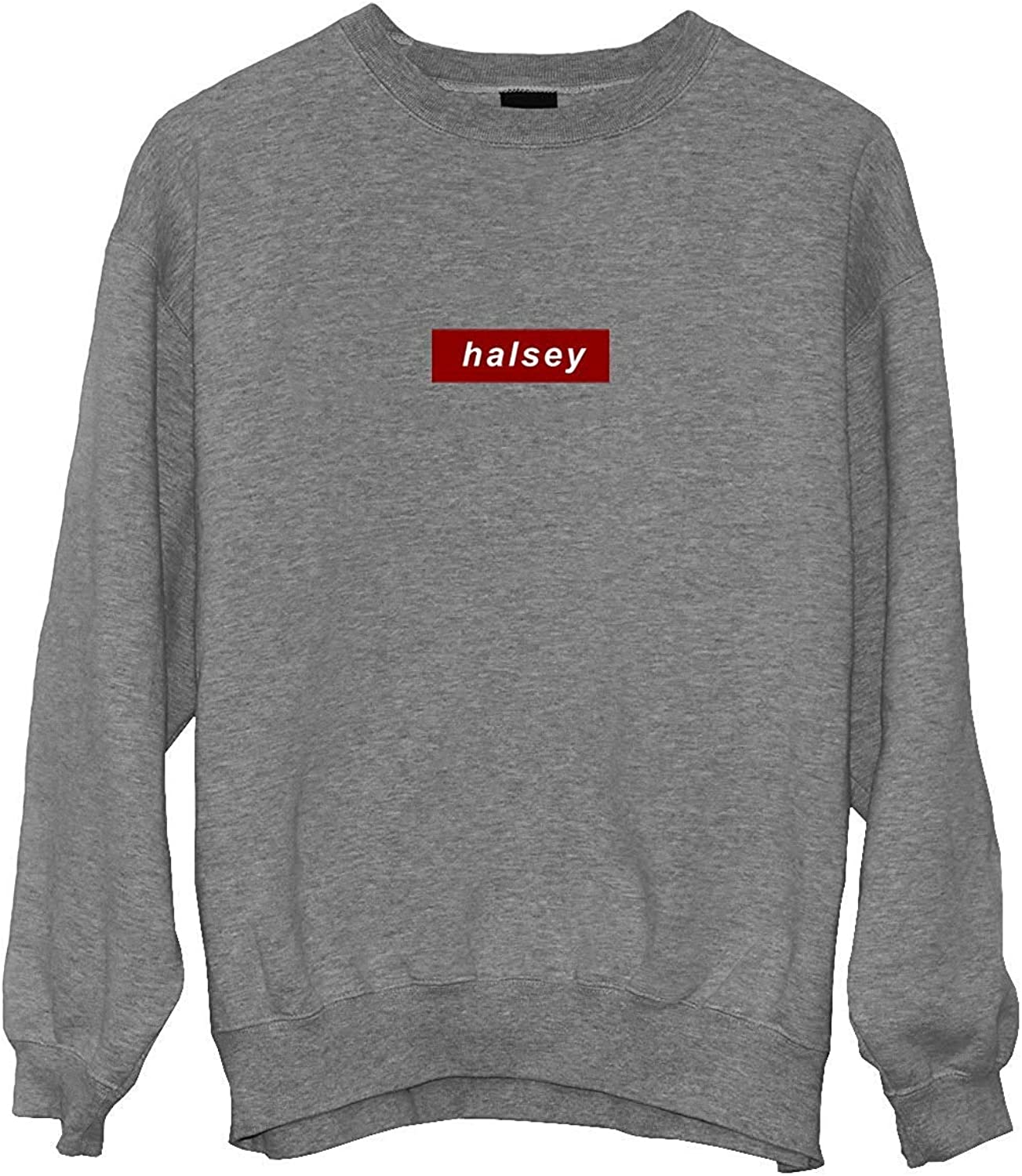 MAKKAP Halsey Rap Music Legend Fan/_MA0712 Crewneck