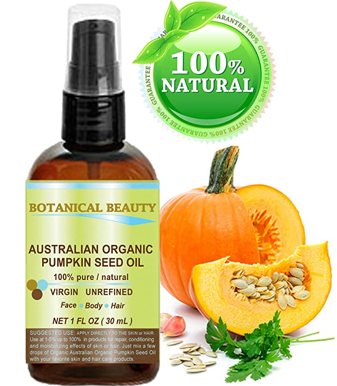 ORGANIC PUMPKIN SEED OIL Australian. 100% Pure / Natural ...