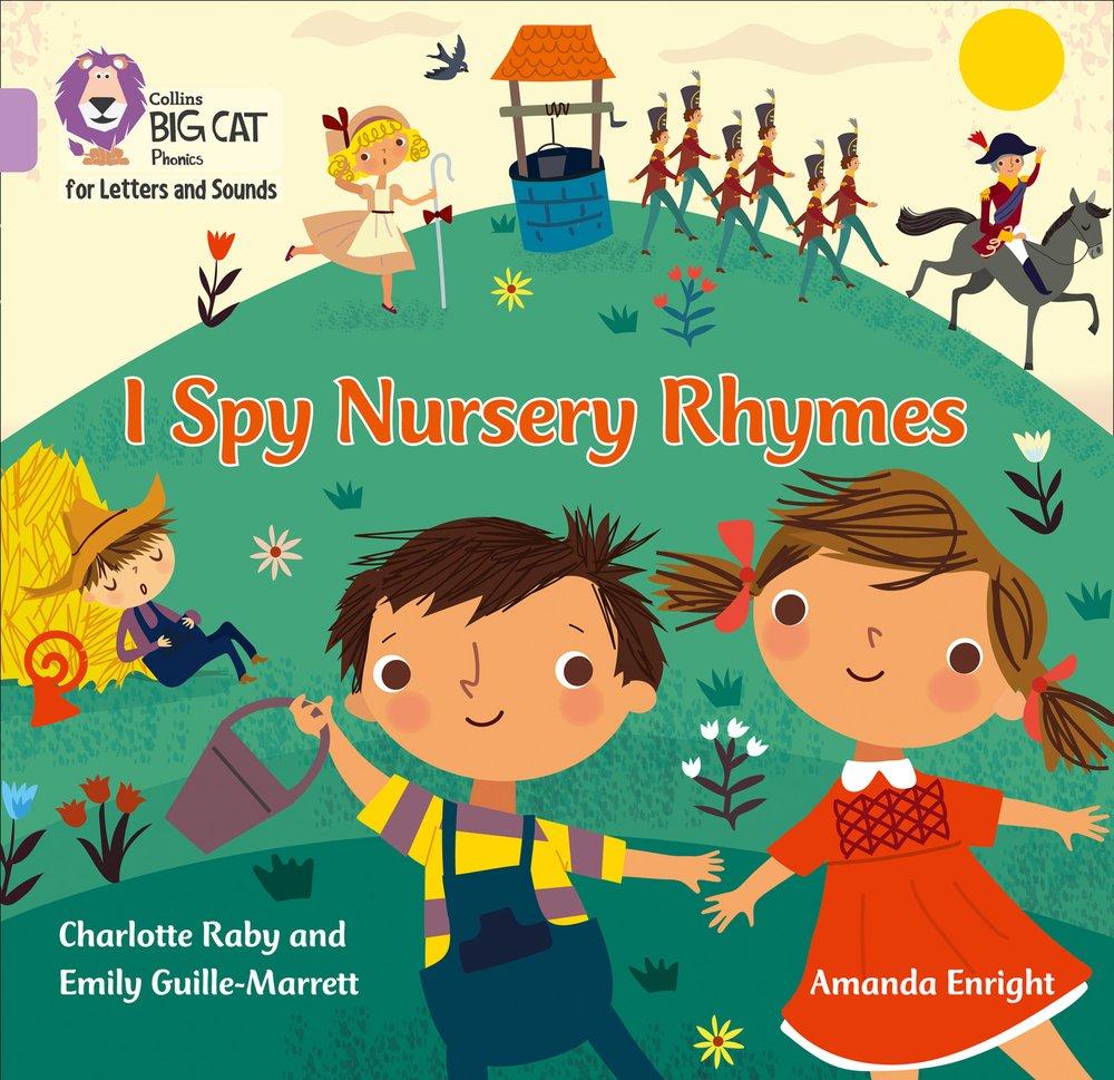 Download I Spy Nursery Rhymes: Band 0/Lilac (Collins Big Cat Phonics) pdf