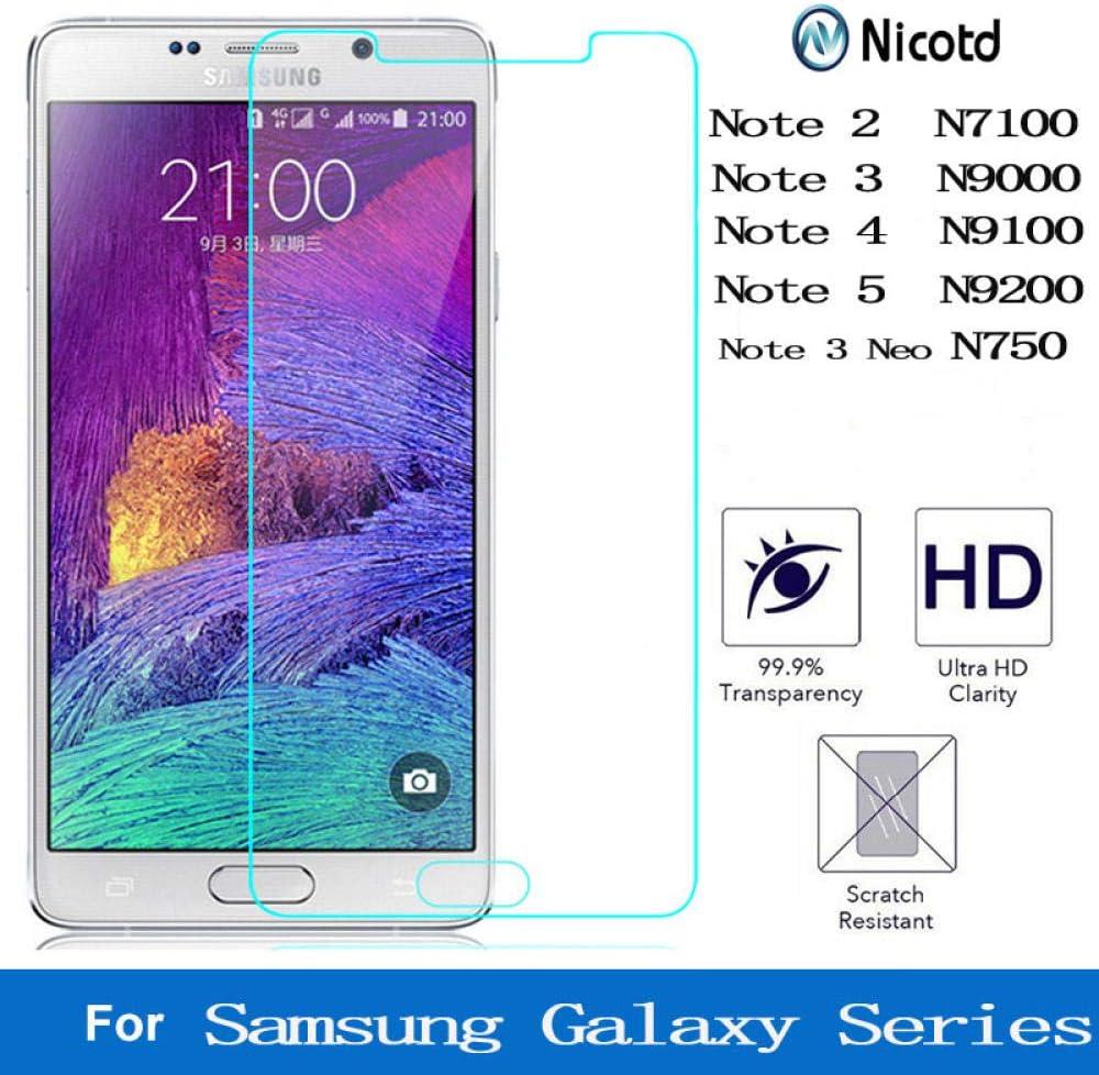 STCMW 3 Piezas 9H Cristal Templado Transparente para Samsung ...
