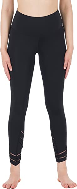 icyzone Yoga Pants for Women - Workout Leggings Athletic Capris Gym Exercise Tights