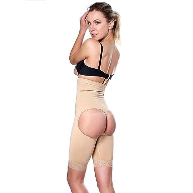 c2fd46d2fd7bc Fulness Valencia Womens Nylon Spandex Seamless Waist Cincher Body Shaper  Shapewear Large X-Large