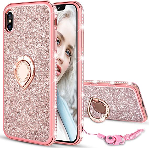 Sparkle Glitter case cover Iphone xs