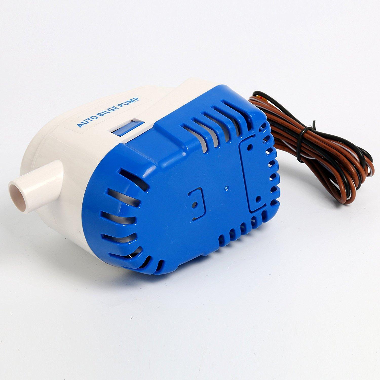 Bomba de agua automática, sumergible, con interruptor flotante integrado, 12 V, 760 GHP, marca Amarine: Amazon.es: Deportes y aire libre