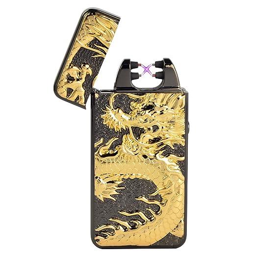 2 opinioni per Accendino Antivento, Starcook USB Ricaricabile Doppia Elettrico Arco Sigaretta