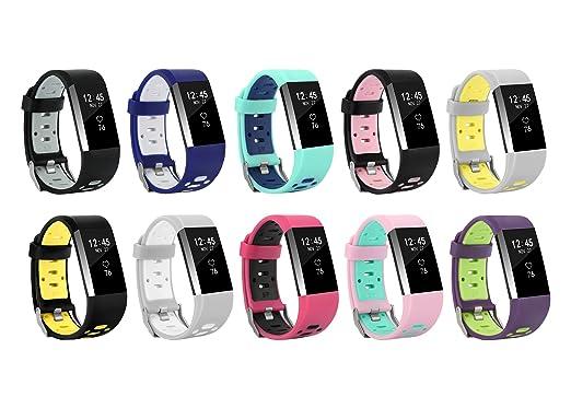 2 opinioni per Recampio Cinturino per il Fitbit Charge 2, BeneStellar Recampio Cinturino per il