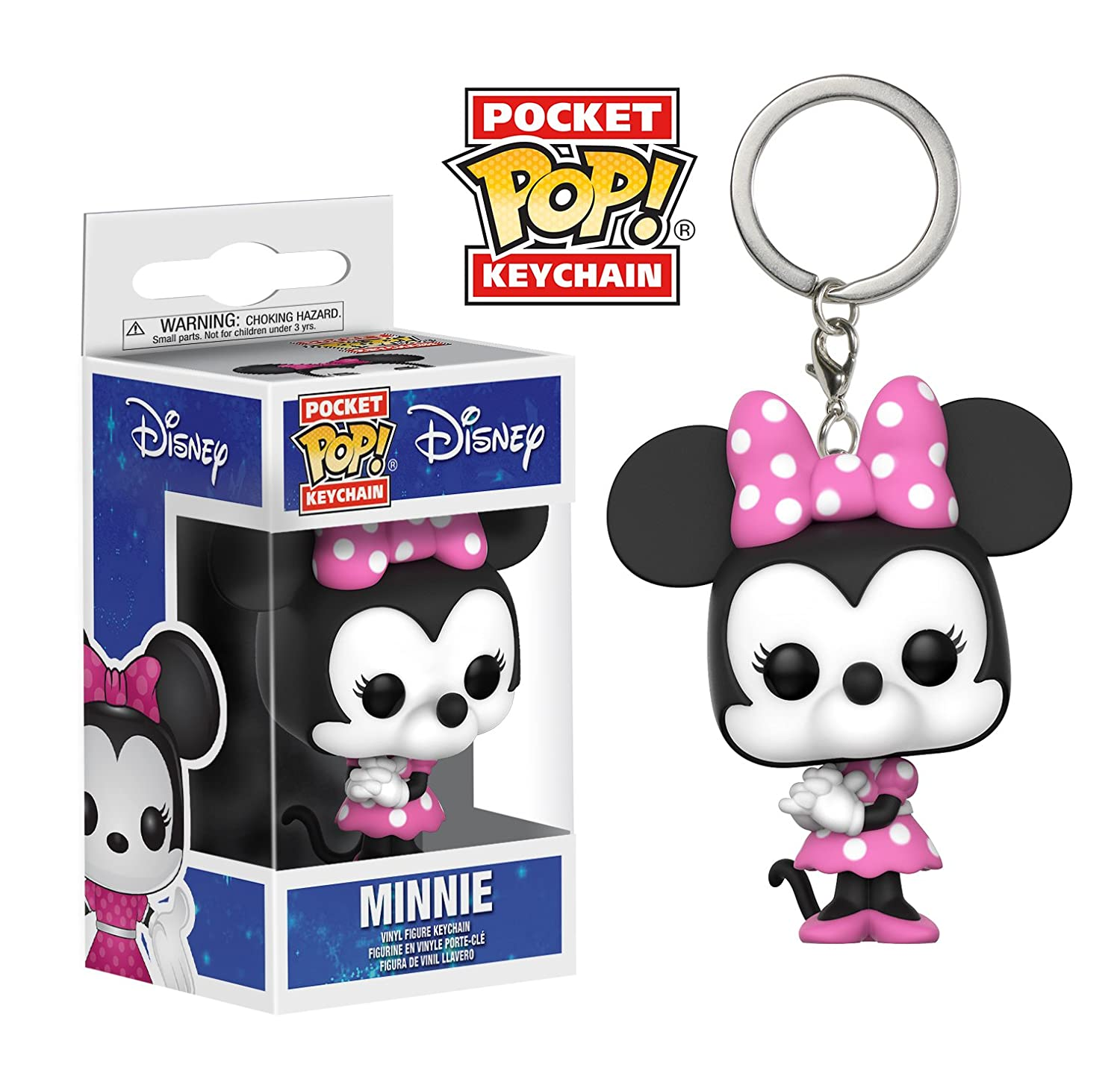 Amazon.com: Funko Pop Keychain: Disney - Minnie Mouse ...