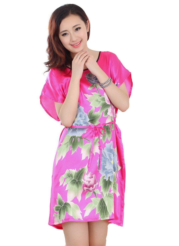 JTC Lady Summer Nightdress Sleepwear Nightwear Nightclothes Loose 10colors
