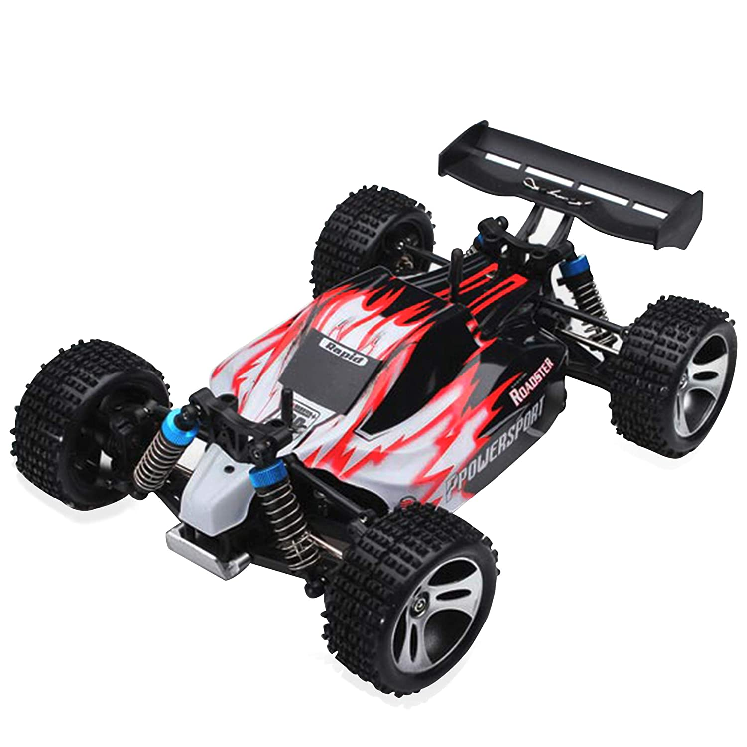 Buy Tygatec Supersonic High Speed Rc Car 55km Per Hour Hobby Grade 4 Wheel Drive 1 18 Scale All Terrain Super Fast Professional Remote Control Car Shock Proof