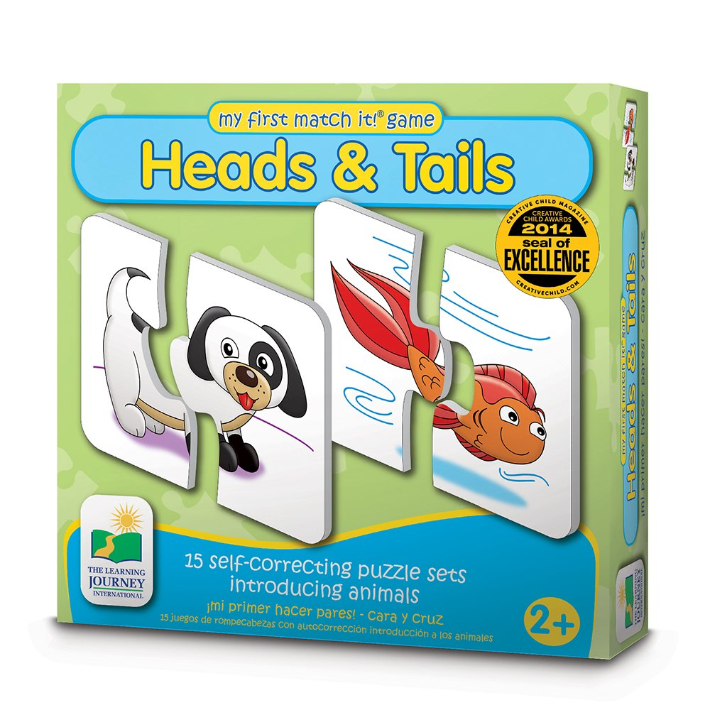 Amazon.com: The Learning Journey My First Match It - Head and Tails ...
