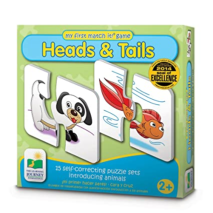 Amazon The Learning Journey My First Match It Head And Tails