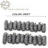 Curly Crochet Twist Braiding Hair Synthetic Kinky Curl Crochet Braids Extensiones 1b African Braids