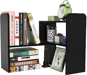 Desk Accessories Bookshelf Bookend Book Shelf Office /& School Supplies Book LP